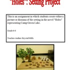 """Holes"" by Louis Sachar: Setting Project"