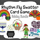 Holiday Bundle Fly Swatter Rhythm Card Game