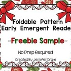 Holiday Foldable Emergent Reader FREEBIE!  CC Aligned!  No Prep!