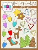 Holiday Gingerbread Cookie Clip Art
