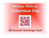 Holiday History - Columbus Day:  QR Scanner Scavenger Hunt