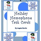 Holiday Homophone Task Cards