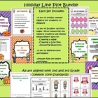 Holiday Line Plot Bundle