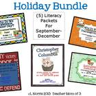Informational Reading Literacy Bundle for September-December