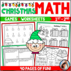 Holiday Math ~ Addition & Subtraction  {Over 40 Pages of M