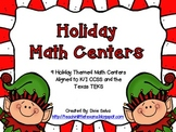 Holiday Math Centers for K/1