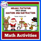 Holiday Math Fun for First Grade (Addition and Subtraction)