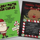 Holiday Math and Writing Centers