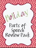Holiday Parts of Speech Activities