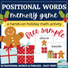 Holiday Positional Memory Game