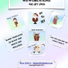 Holiday Postcard Gift Cards and Notes FREE