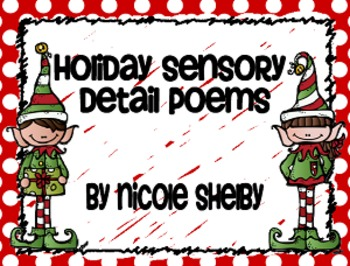 Holiday Sensory Detail Poems