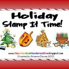 Holiday Stamp It Time!