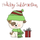 Holiday Subtraction Color by Number
