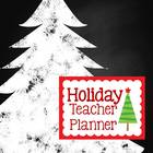 Holiday Teacher Planner {Chalk It Up}