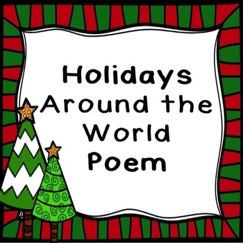 Holidays Around the World Poem