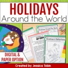 Christmas Around the World (Reading, Writing, and Flip Boo