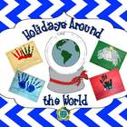 Holidays Around the World for K-1 Craftivity / Book
