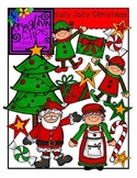 Holly Jolly Christmas {Creative Clips Digital Clipart}