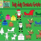 Holly Jolly Christmas Graphics Set