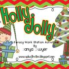 Holly Jolly Literacy Stations