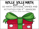 Holly Jolly Math {10 Games, Centers and Activities for 4th