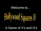 Hollywood Squares Math Review