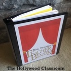 Hollywood Theme Classroom Essentials Teacher Set
