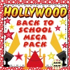 Hollywood Themed Back to School Mega Pack