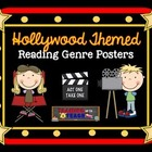 Hollywood Themed Reading Genre Posters