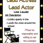 Hollywood classroom job descriptions