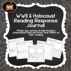Holocaust Book Reading Response Journal