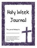Holy Week Journal