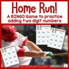 Home Run Two Digit Addition