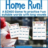 Home Run Two Syllable Words