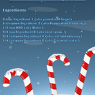 Homemade Candy Cane Recipe