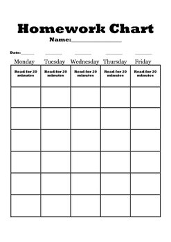 photograph about Printable Homework Chart known as Creating Your Software Essays for Office environment Higher education