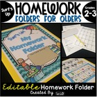 Homework Folder for Olders - Surf's Up! {Surf Theme}