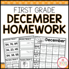 Homework Packet {December 2013 | First Grade}