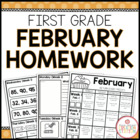 Homework Packet {February 2014 | First Grade}