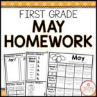 Homework Packet {May 2014 | First Grade}