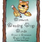 Homework Reading Logs BUNDLE (Primary & Intermediate) in E