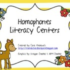Homophones Literacy Unit