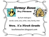 Honey Bees Fry Phrases Reading Street