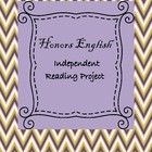Honors English Independent Reading Project