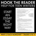 Hook the Reader with Best Launch for an Introductory Paragraph