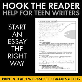 eddington hook good essay writing