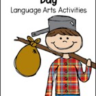 Hooray for Johnny Appleseed Day!  A Mini Language Pack