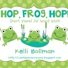 Hop, Frog, Hop! {Short Vowel /o/ Word Work}