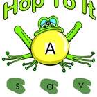 Hop To It Uppercase & Lowercase Letter Matching Game